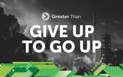 Give Up To Go Up at This Year's Greater Than Conference
